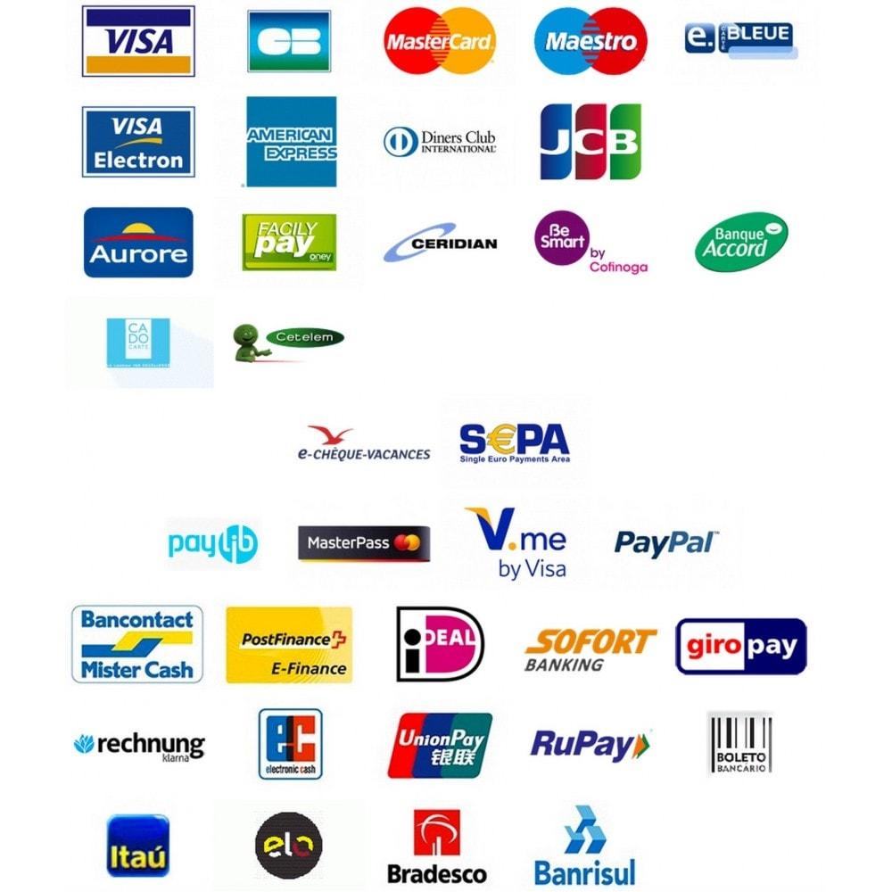 module - Paiement par Carte ou Wallet - Passerelle de Paiement PayZen SystemPay & SogeCommerce - 6