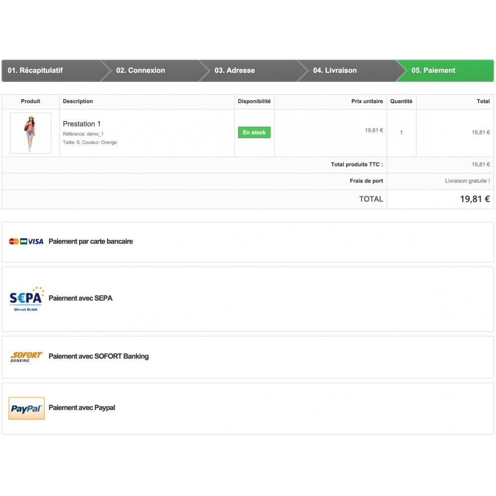 module - Paiement par Carte ou Wallet - Passerelle de Paiement PayZen SystemPay & SogeCommerce - 1