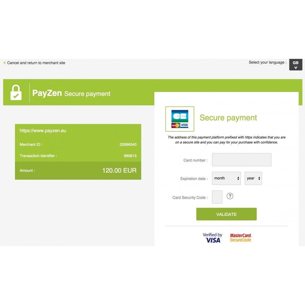 module - Payment by Card or Wallet - Advanced Payment Gateway by Altireo - 3