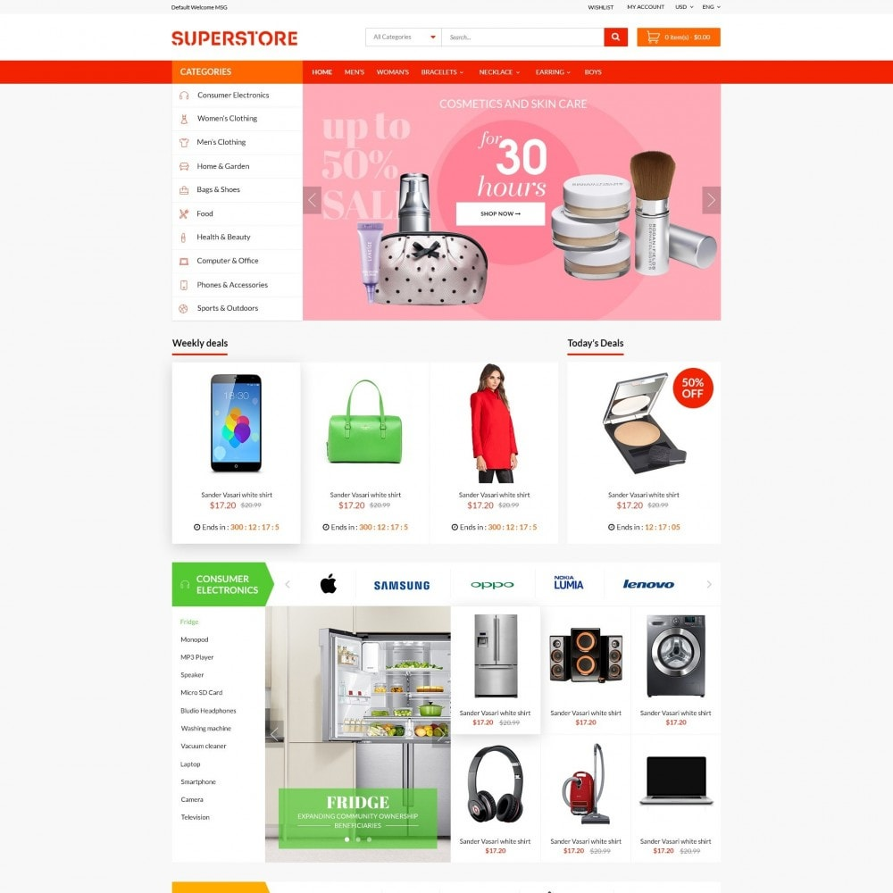 theme - Электроника и компьютеры - Supermarket - Appliances, Electronics & Fashion Store - 2