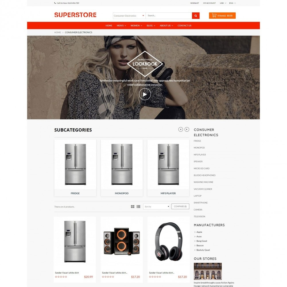 theme - Электроника и компьютеры - Supermarket - Appliances, Electronics & Fashion Store - 4