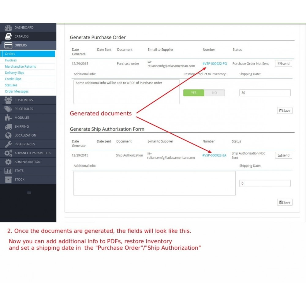module - B2B - Easy B2B for Purchase Orders and Invoices - 2