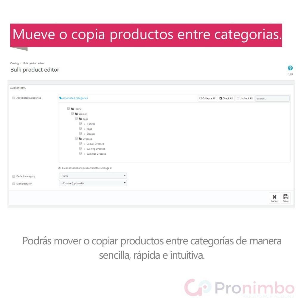 module - Edición Rápida y Masiva - Edición Masiva de Productos. - 4