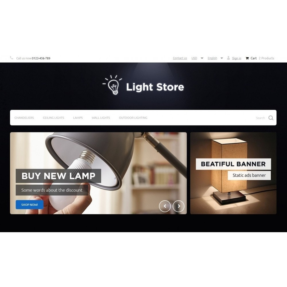 theme - Casa & Giardino - Light Store - 3