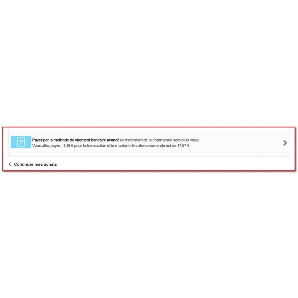 module - Paiement par Transfert Bancaire - Paiement avancé par virement bancaire - 6