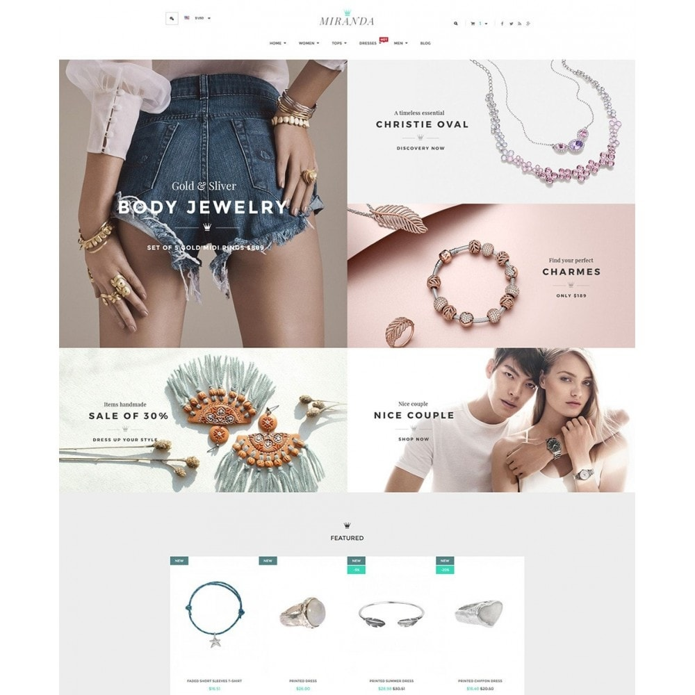 theme - Jewelry & Accessories - Water Jewelry Shop - 2