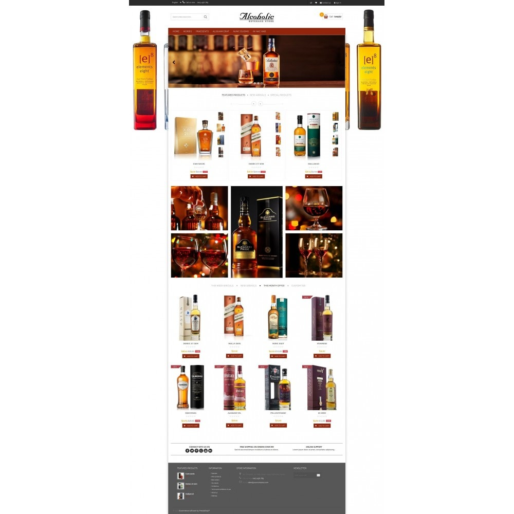 theme - Boissons & Tabac - Alcoholic & Wine Shop HTML5 - 3