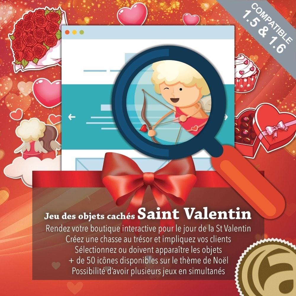 module - Jeux-concours - Jeu des objets cachés : Saint-Valentin - 1