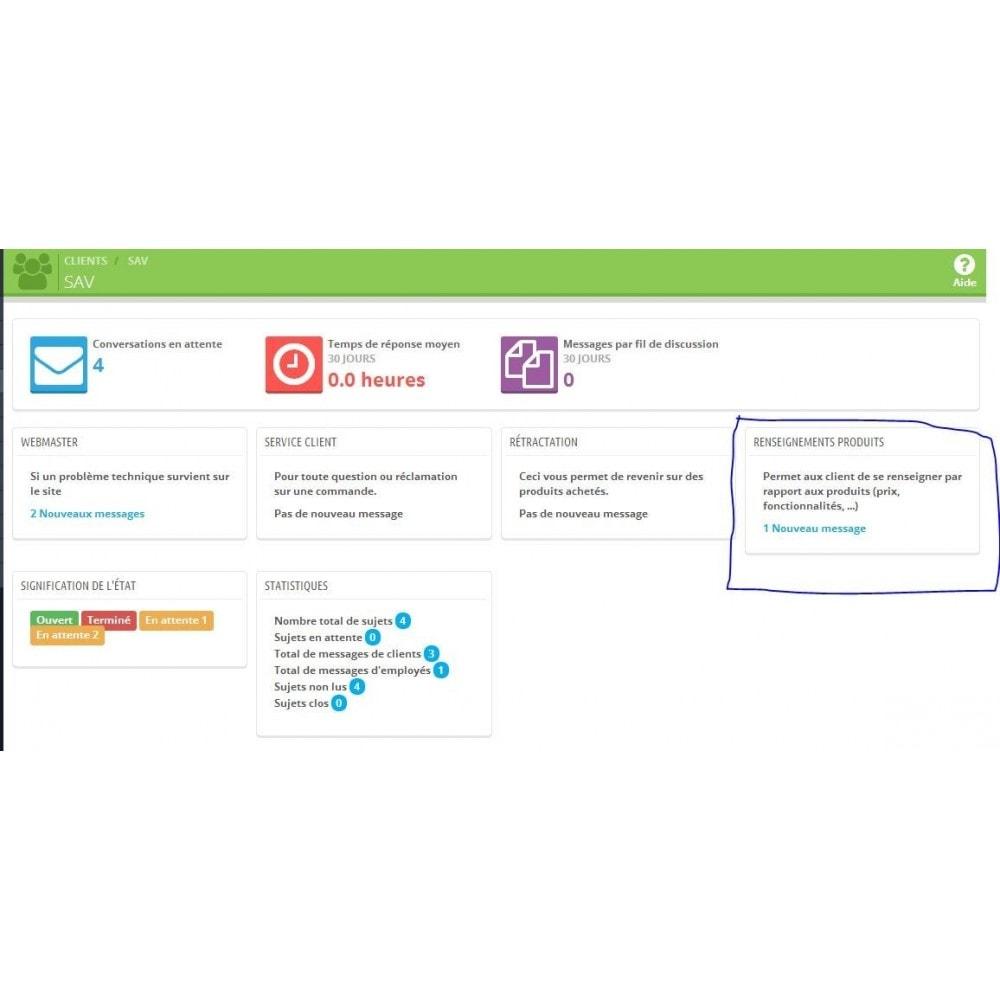 module - Formulaires de Contact & Sondages - Renseignements sur un produit avant achat - 8