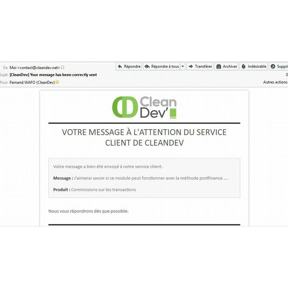 module - Form di contatto & Questionari - Information on product before purchase - 9