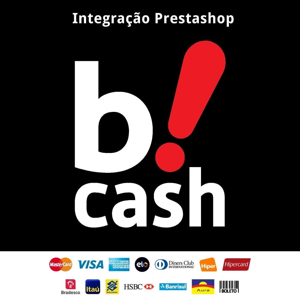 module - Pagamento con Carta di Credito o Wallet - Bcash integrated - 1