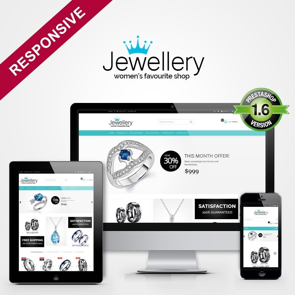 theme - Schmuck & Accesoires - Jewellery Multipurpose HTML5 - 1