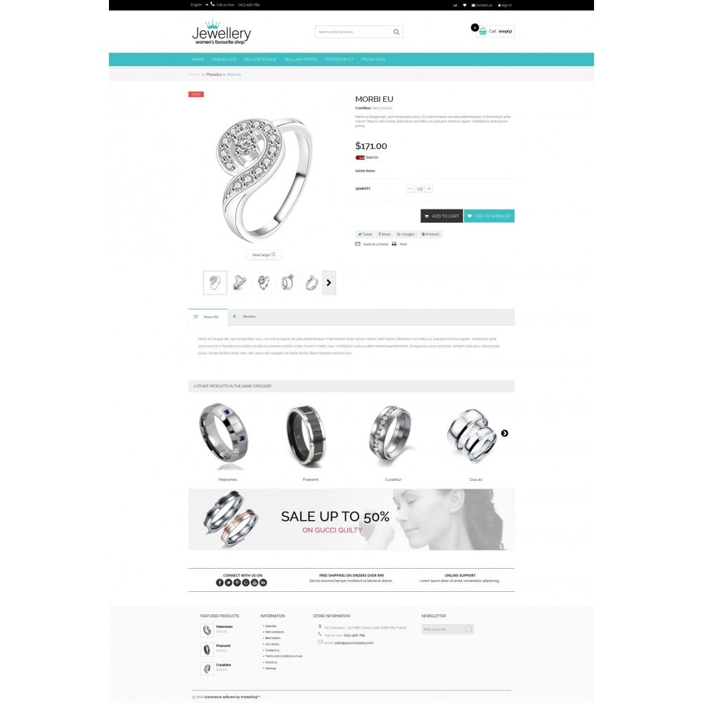 theme - Bellezza & Gioielli - Jewellery Multipurpose HTML5 - 3