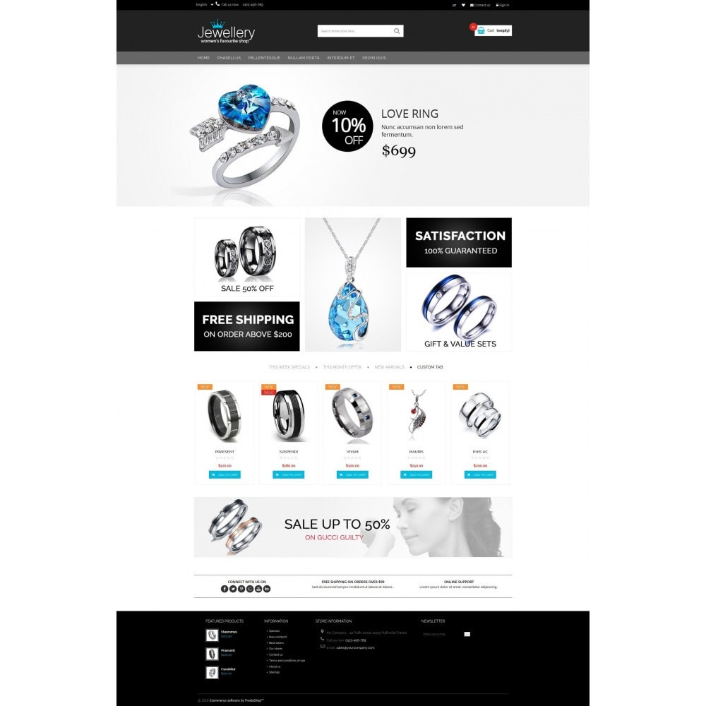 theme - Bellezza & Gioielli - Jewellery Multipurpose HTML5 - 5
