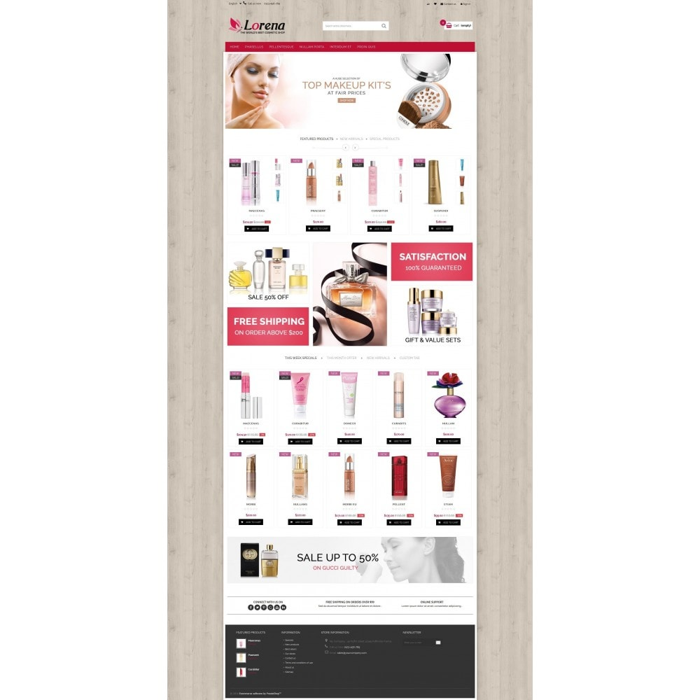 theme - Salute & Bellezza - Lorena Cosmetic Shop HTML5 - 5