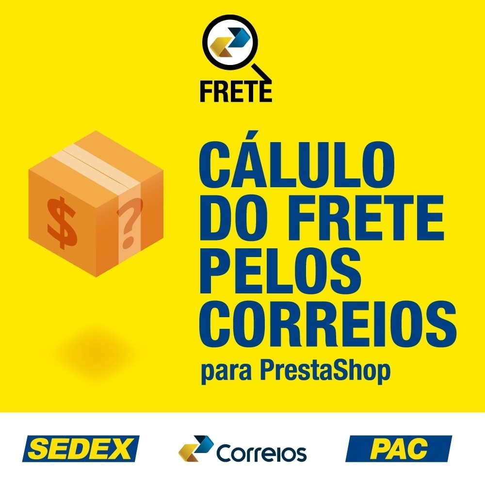 module - Vervoerder - Shipping cost calculation by the Brazilian Correios - 1