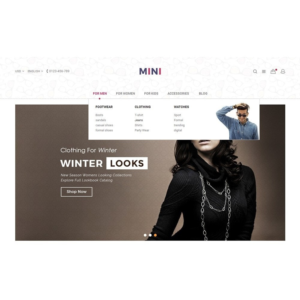 theme - Moda & Obuwie - Minimal Fashion - 5