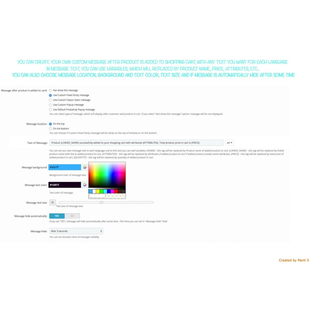 module - Cadastro e Processo de Pedido - Add To Cart Fly Effect, Hide Popup and Other Animations - 5
