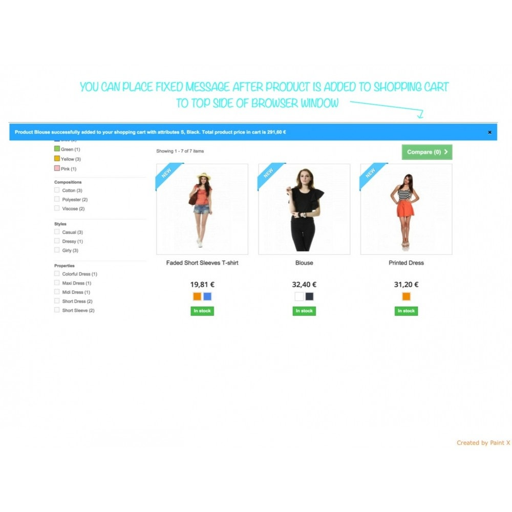 module - Inscription & Processus de commande - Add To Cart Fly Effect, Hide Popup and Other Animations - 5