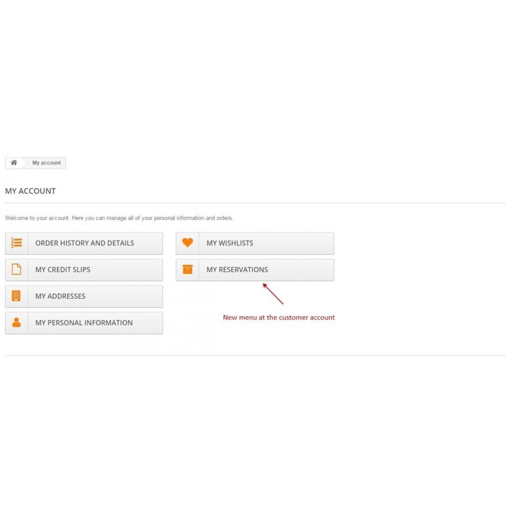module - Andere betaalmethodes - Reservation fee / Reserve cart / Deposit payment - 15