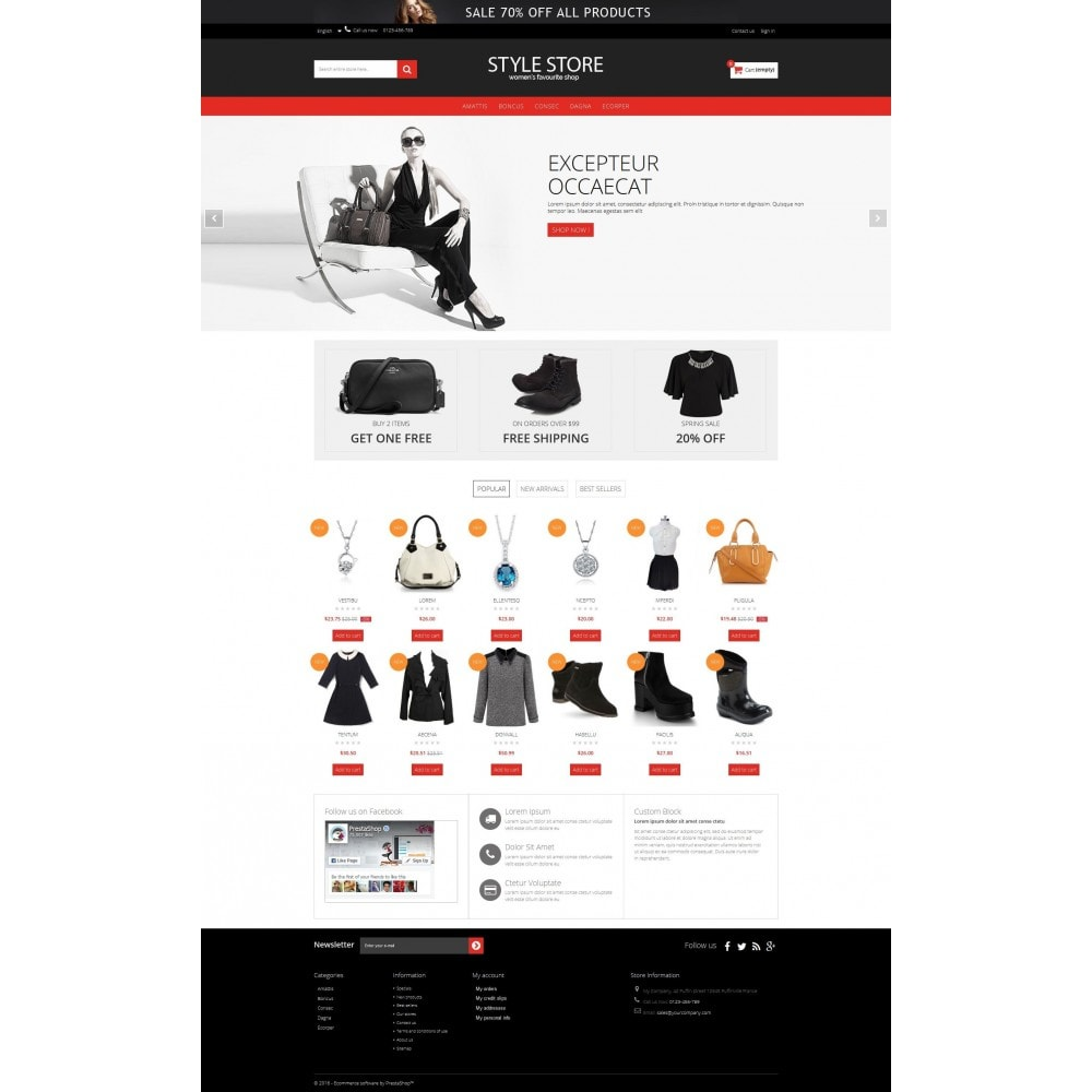 theme - Mode & Schuhe - Style Fashion Store HTML5 - 5