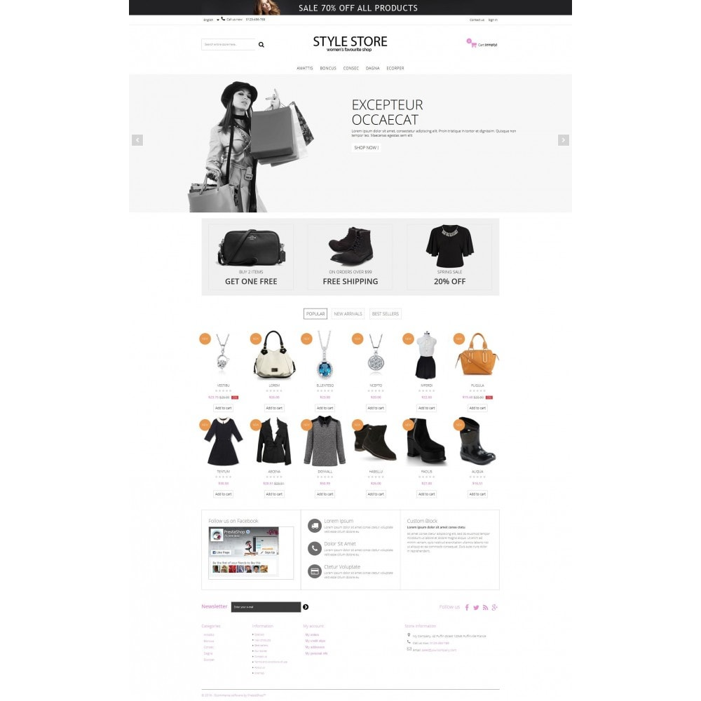 theme - Mode & Schoenen - Style Fashion Store HTML5 - 7