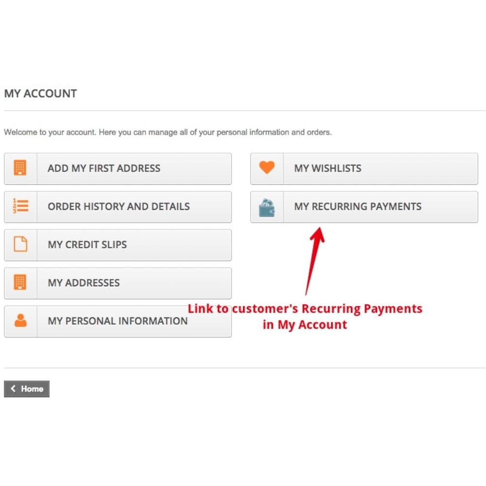 module - Pagamento ricorrente (abbonamento) - Recurring Payments and Subscriptions - 7