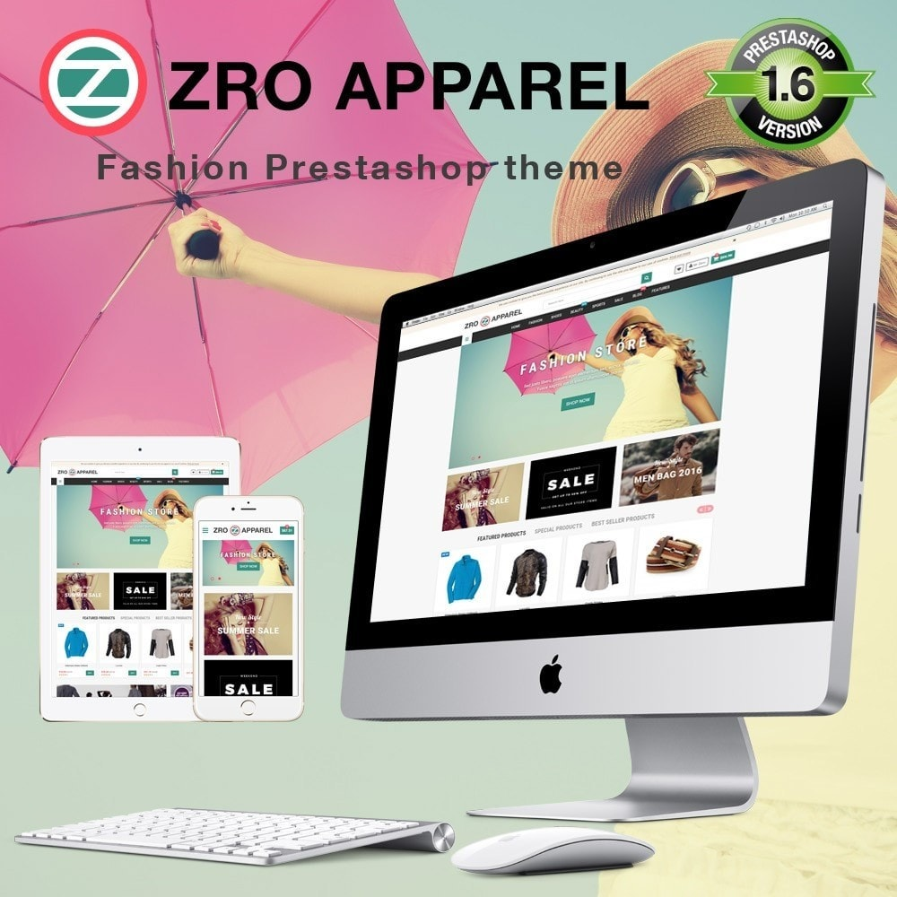 theme - Fashion & Shoes - Zro13 - Fashion Store - Shop Online for Fashion - 1