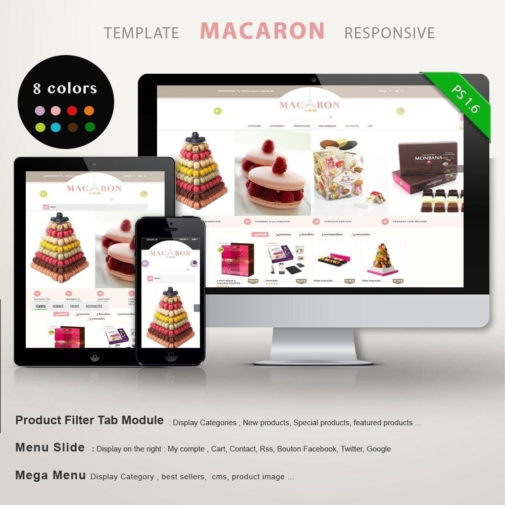 theme - Gastronomía y Restauración - MACARON - 1