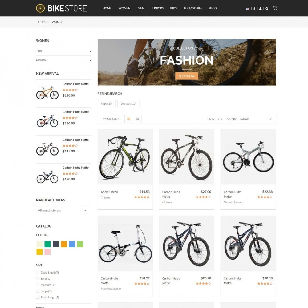 theme - Sport, Loisirs & Voyage - Bikes, Cycling Clothing & Bike Shoes Responsive Store - 3