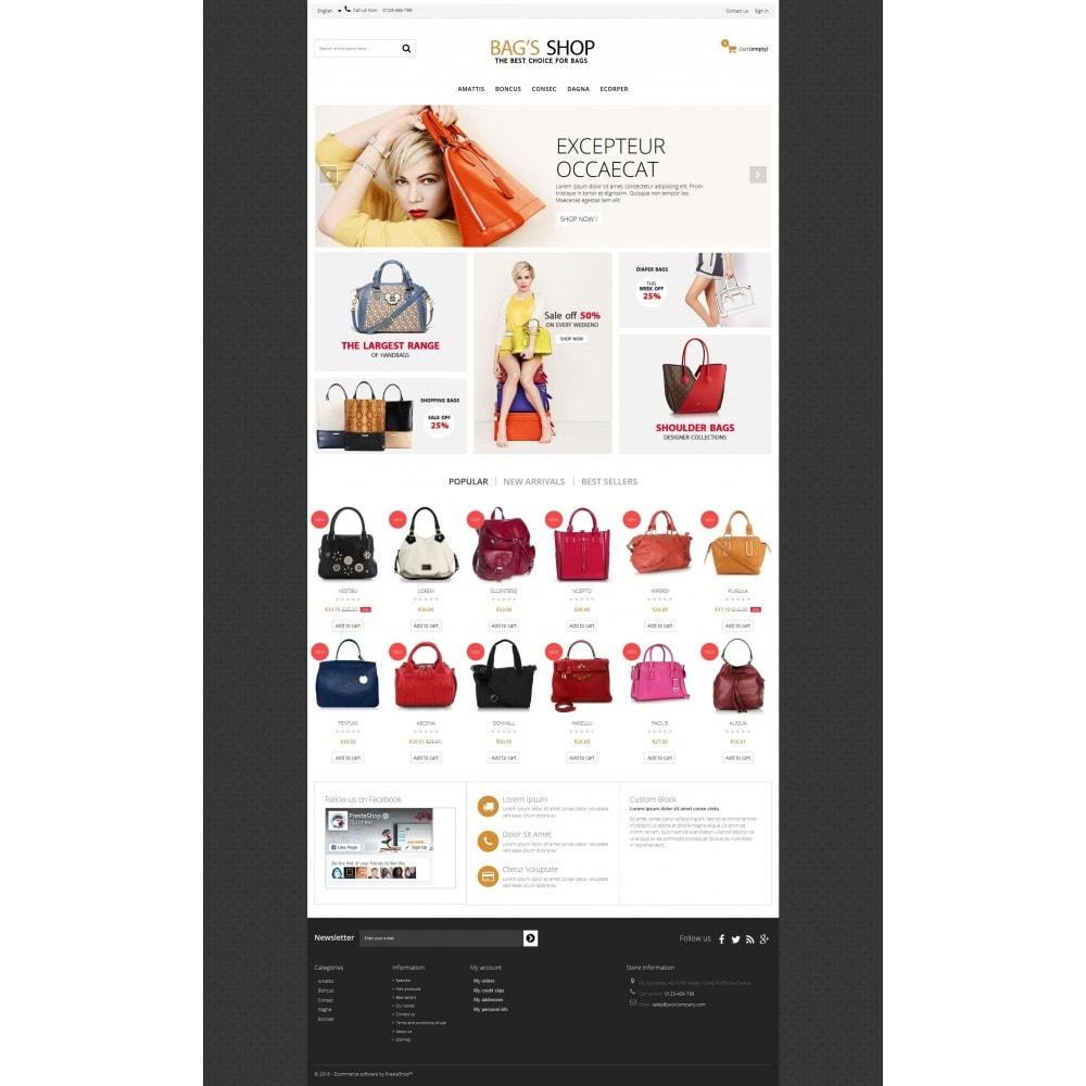 theme - Schmuck & Accesoires - Bags shop Multipurpose HTML5 - 3
