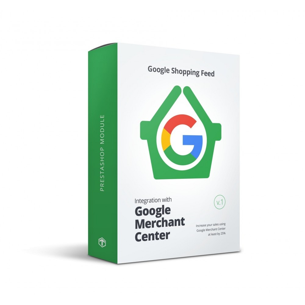 module - Comparateurs de prix - Google Shopping Feed (for Google Merchant Center) - 1