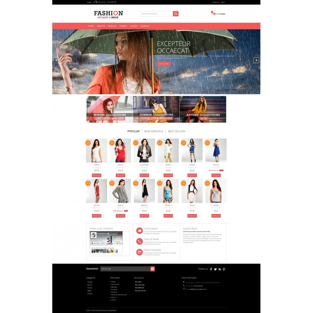 theme - Moda & Obuwie - Fashion 1.6 Multipurpose HTML5 - 2