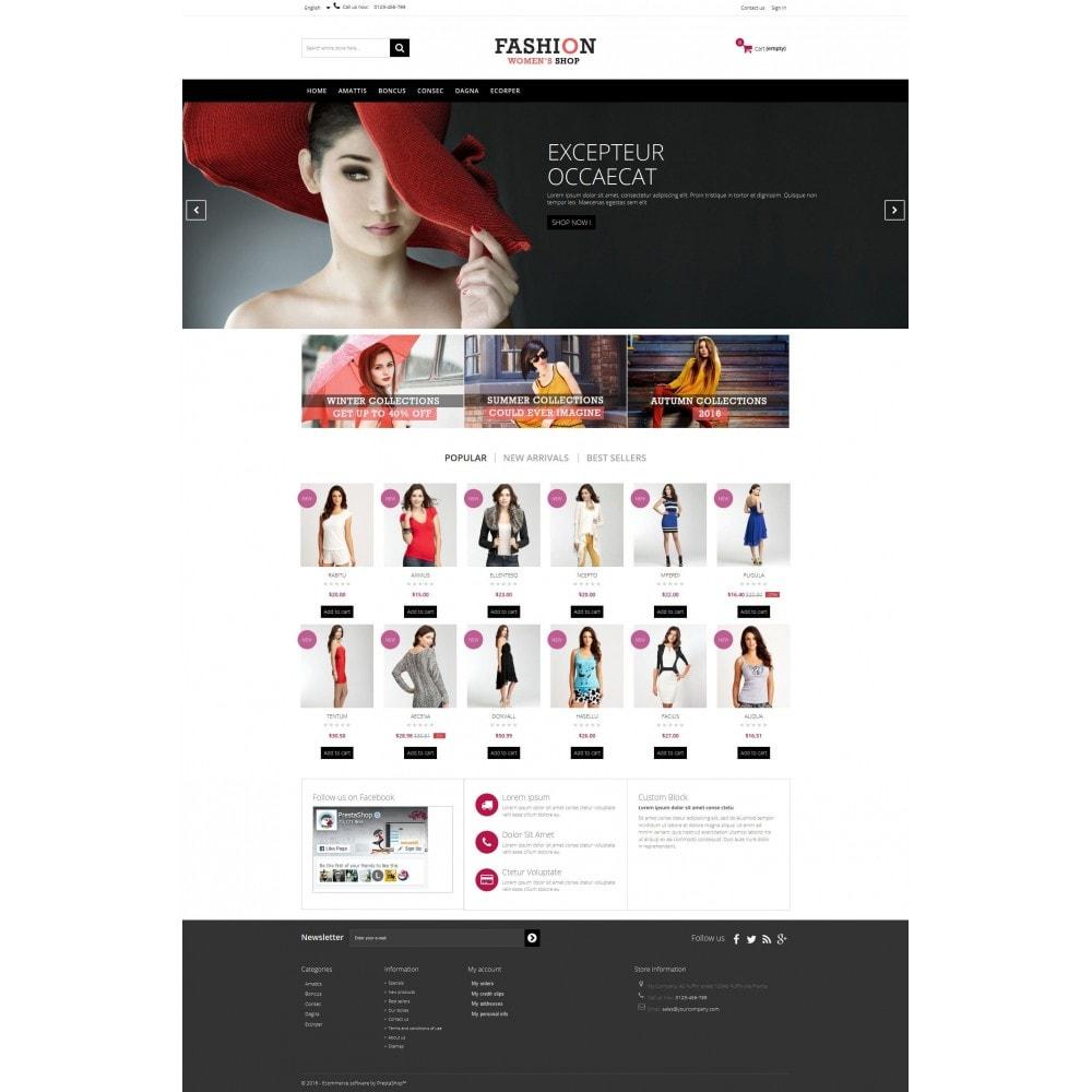 theme - Moda y Calzado - Fashion Multipurpose HTML5 - 3