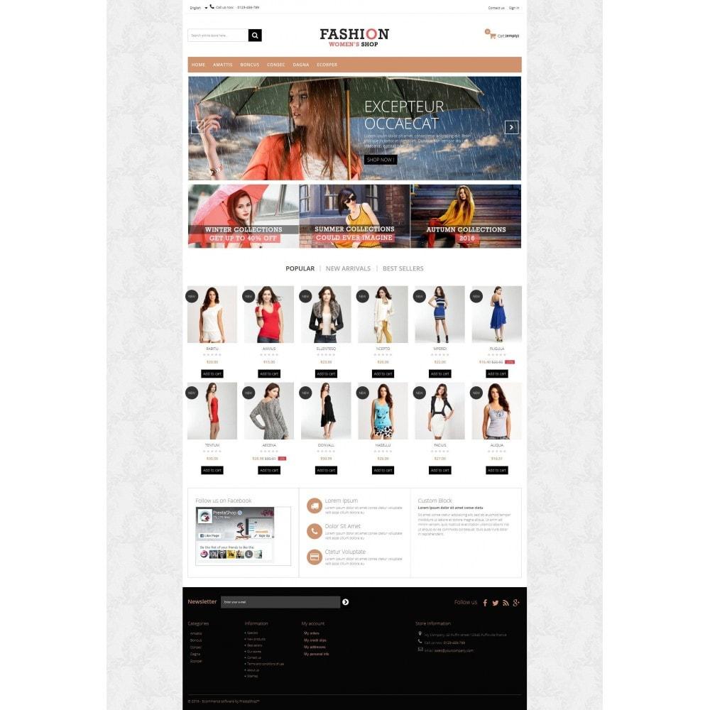 theme - Moda y Calzado - Fashion Multipurpose HTML5 - 4