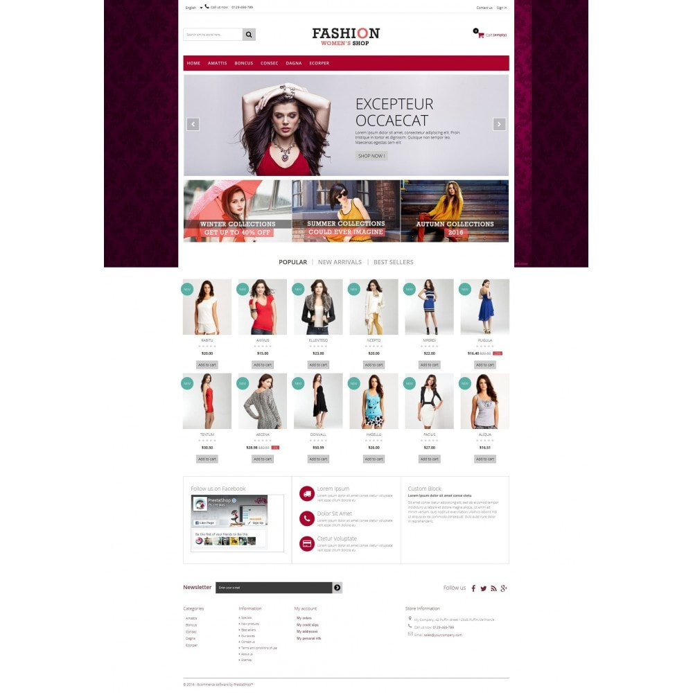 theme - Fashion & Shoes - Fashion Multipurpose HTML5 - 7
