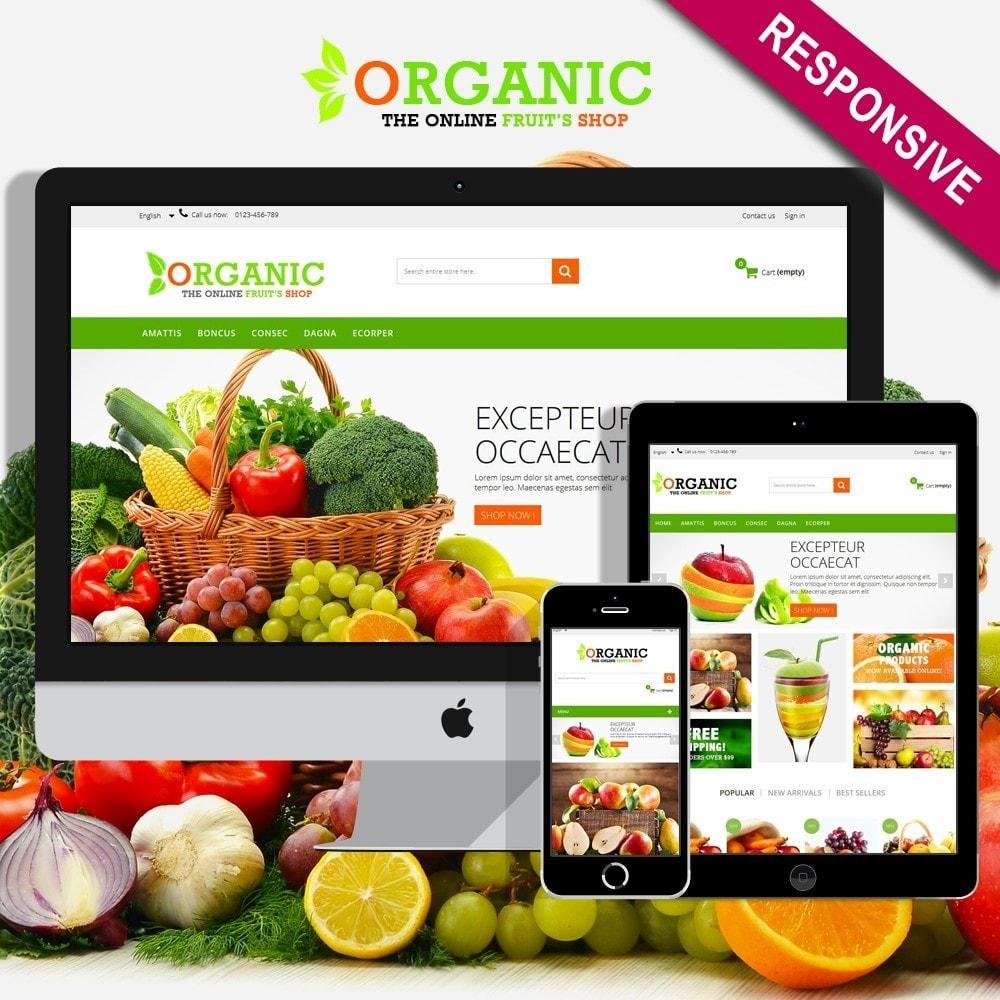 theme - Lebensmittel & Restaurants - Organic Multishop  HTML5 - 1