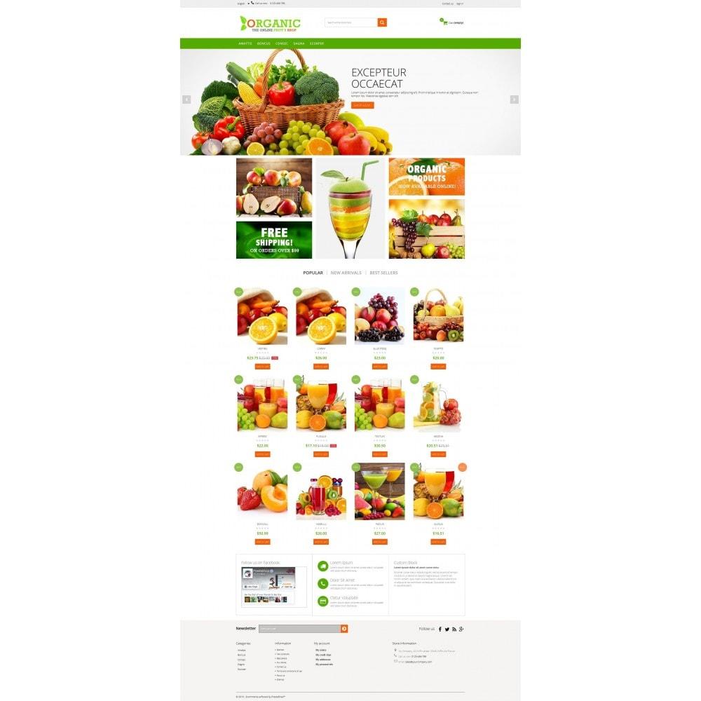theme - Lebensmittel & Restaurants - Organic Multishop  HTML5 - 2