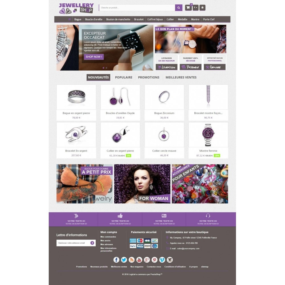 theme - Jewelry & Accessories - Jewellery Shop 1.6 Responsive - 2