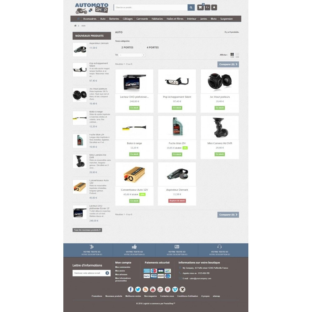 theme - Auto & Moto - Auto Moto Shop 1.6 Responsive - 5