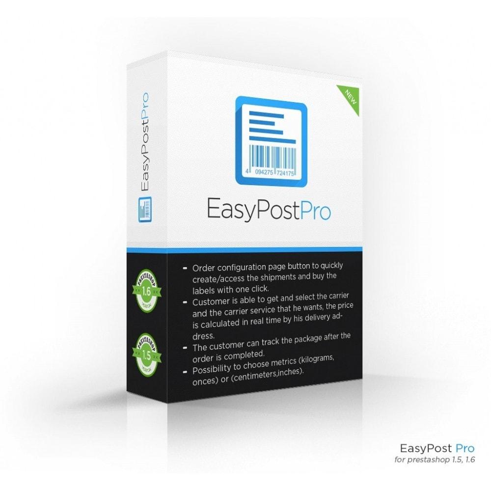 module - Preparación y Envíos - Easy Post Pro (DHL, GLS, DPD, Colissimo, RoyalMail etc) - 1