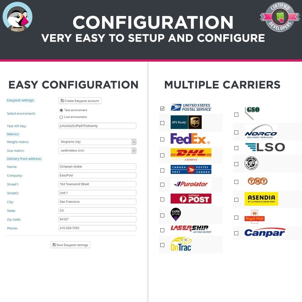 module - Preparazione & Spedizione - Easy Post Pro (DHL, GLS, DPD, Colissimo, RoyalMail etc) - 3