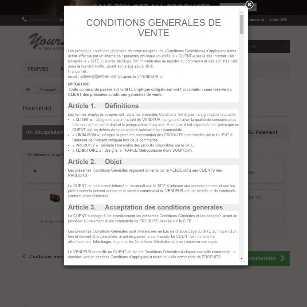 Cgv conditions g n rales de ventes personnalis es for Vente de vegetaux en ligne