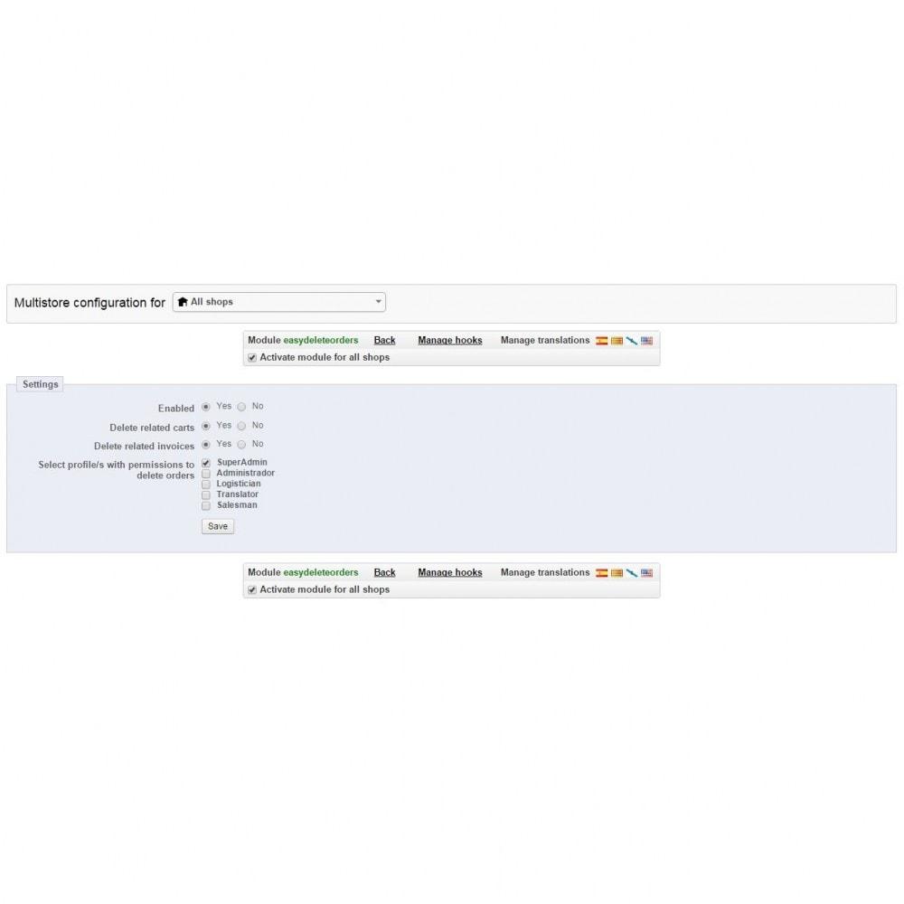 module - Gestión de Pedidos - Borrado de pedidos Plus - Elimina pedidos fácilmente - 6