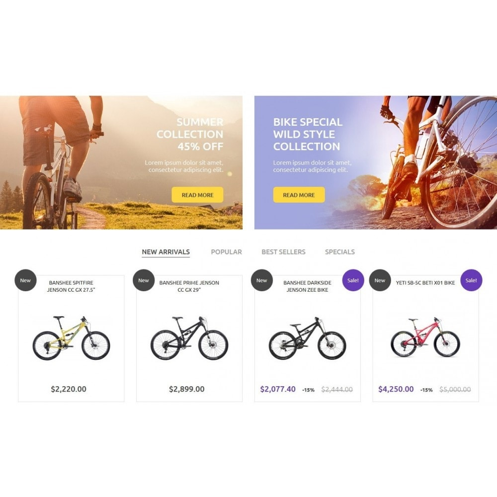 theme - Sports, Activities & Travel - Bike Store 1.6 Responsive - 4