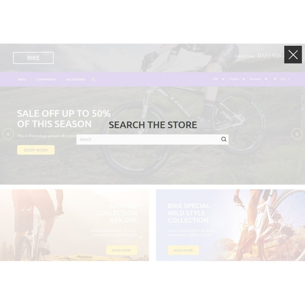 theme - Sports, Activities & Travel - Bike Store 1.6 Responsive - 5