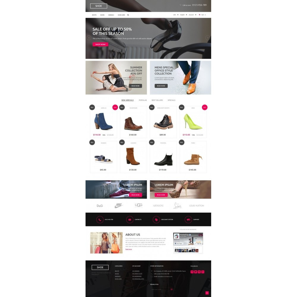 theme - Mode & Schuhe - Shoes Store 1.6 Responsive - 2