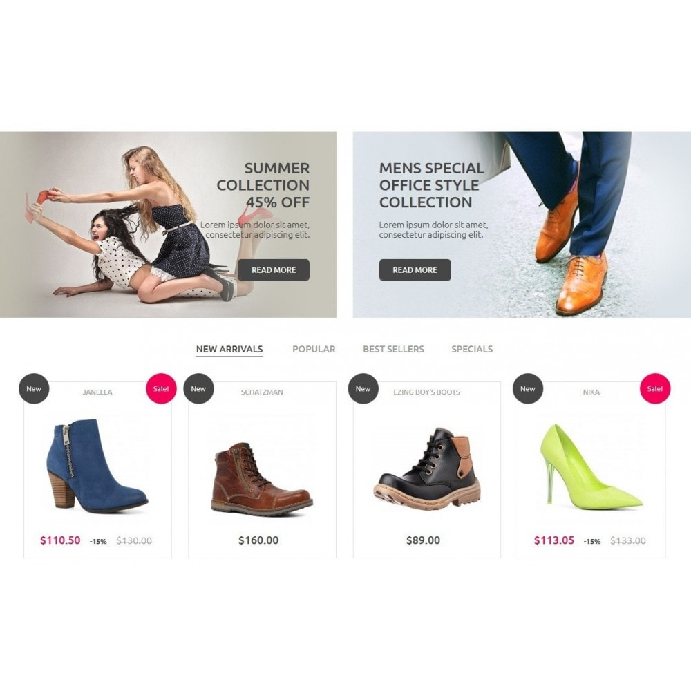 theme - Mode & Schuhe - Shoes Store - 4