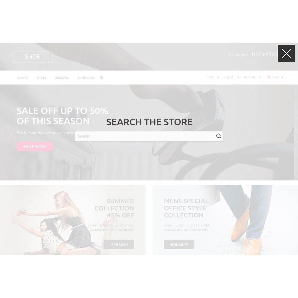 theme - Mode & Schuhe - Shoes Store 1.6 Responsive - 5