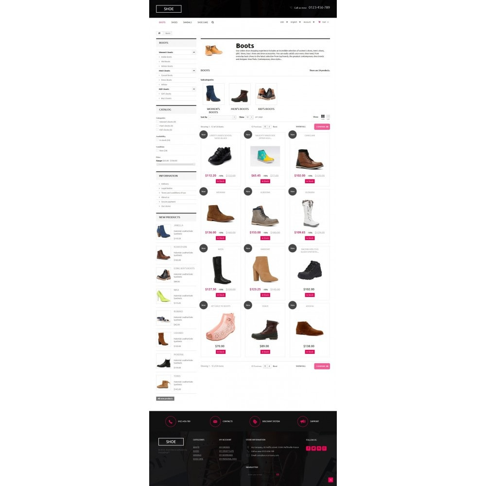 theme - Mode & Schuhe - Shoes Store 1.6 Responsive - 6